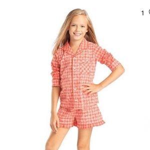 American Girl Tenney Grant Gingham Pajama Girls